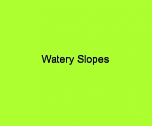 Watery slopes title card