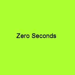 Zero seconds title card