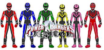 Power Rangers Digiton