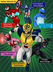 Mighty morphin marvel heroes by ashleywharfe-d958c73