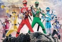 Ninja Stom Rangers