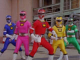 Power Rangers: Carforce