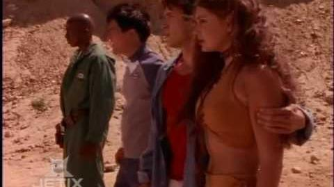 Power Rangers Lost Galaxy - Kendrix's Sacrifice