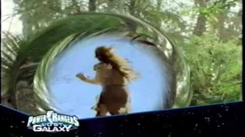 Power Rangers Lost Galaxy various Premiere promos