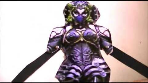 Power Rangers Lost Galaxy 2014 Fan-Film - New Female Villain - Mortalia (Metal Alice)