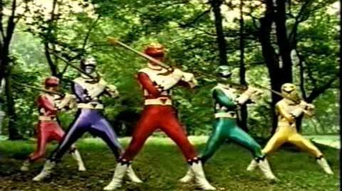 "Power Rangers Lost Galaxy ""Shark Attack"" & ""Redemption Day"" episodics"