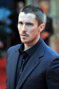 Christian bale black shirt bla