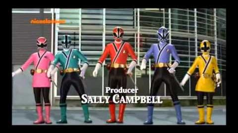 Power Rangers Super Samurai Intro