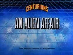 An alien affair