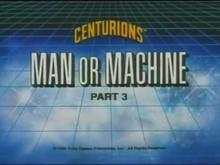 Man or Machine PART 3 - Title Card