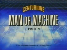 Man or Machine Part 4 - Title Card