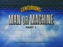 Man or Machine PART 1 - Title Card