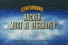 Hacker Must Be Destroyed - Title Card