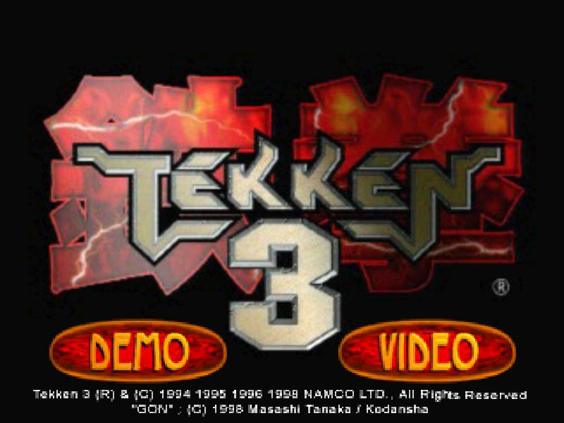 Euro Demo 36 (OUKPSM36, Tekken 3 Collector's Edition) | Official