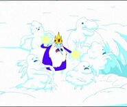 S1e3 ice king summoning snow creatures