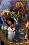 Monica Jim Animalia (Valiant Entertainment) Harbinger Vol 2 17 Textless