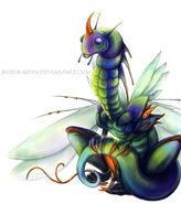 Insect dragon by Kuroi kisin