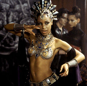 Aaliyah as Akasha, Queen of the Damned