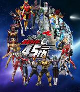 All Kamen Rider Final Forms