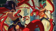 Eliza vs Cerebella (Skullgirls)