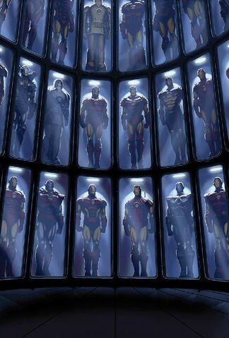File:Iron Man Suits.jpg