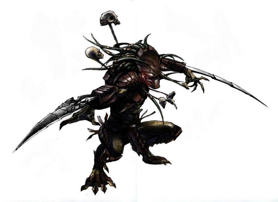 arm blade. predator blades arm blade