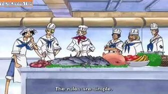 Face off - Sanji vs Marine cooks