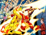 Speed Force Negative Speed Force Users