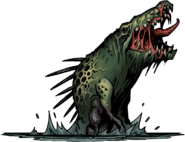 Crocodilian Darkest Dungeon