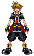 Sora Kingdom Hearts II