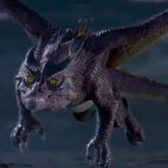 (Descendants) Mal in dragon form