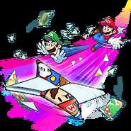 Mario and Luigi Paper Jam Trio Attack