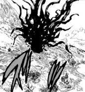 Meliodas using Hellblaze