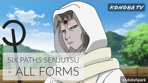 Six Paths Senjutsu - All Forms and Jutsu ( Update Asura Ōtsutsuki )