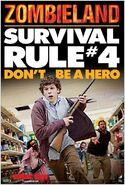 Zombieland rule4 poster