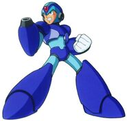 Mega Man X4 Pose