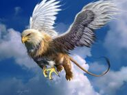 Griffin artwork