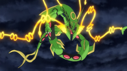 Mega Rayquaza anime