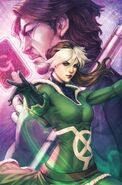 Rogue Astonishing X-Men Vol 4 1 Artgerm Variant Textless