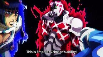 ジョジョ This is King Crimson's ability! 『HD』