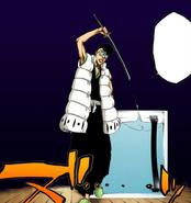 Ōetsu Nimaiya (Bleach) draws