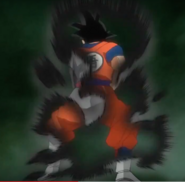 Goku Black mimicking