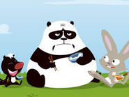 Panda, Skunk and Rabbit