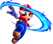 Mario Spin Art - Super Mario Galaxy