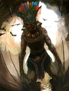 Mayan-God Camazotz
