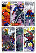 Man-Thing vs Spider-Man