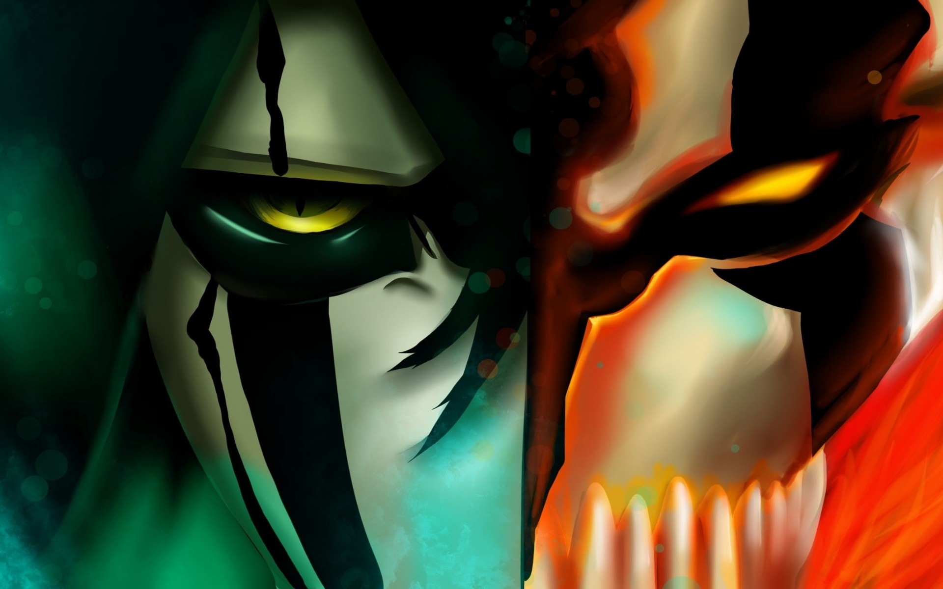Paintings Bleach Kurosaki Ichigo Espada Digital Art Fan Ulquiorra Cifer Vastolorde HD Wallpapers