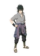 Sasuke Uchiha Sharingan and Rinnegan