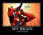Deadpool Brain Faillure