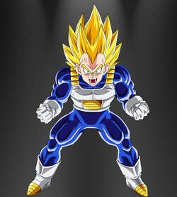 Dragon Ball Z-Super Vegeta 2